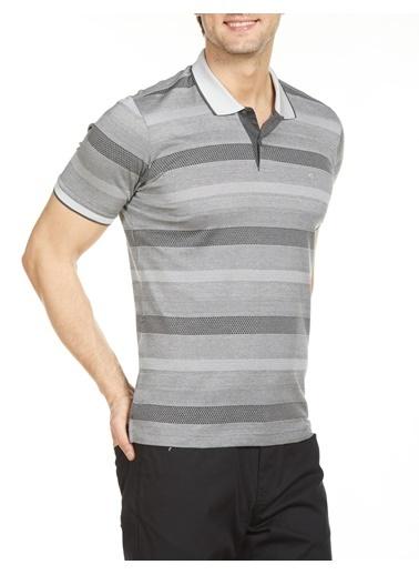 Bisse TS20Y20101 Polo Yaka T'Shirt Gri